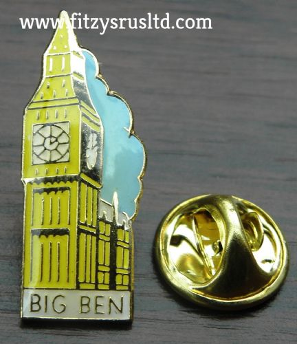BIG BEN LAPEL HAT TIE CAP PIN BADGE UK LONDON GB GIFT SOUVENIR BROOCH BRAND NEW